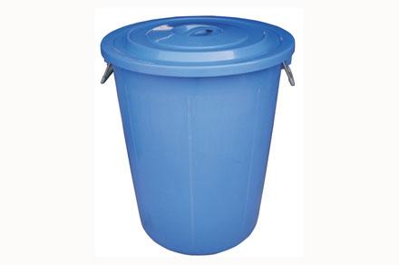 经典100l塑料圆筒 - 塑料垃圾桶 - 垃圾桶,垃圾箱,箱
